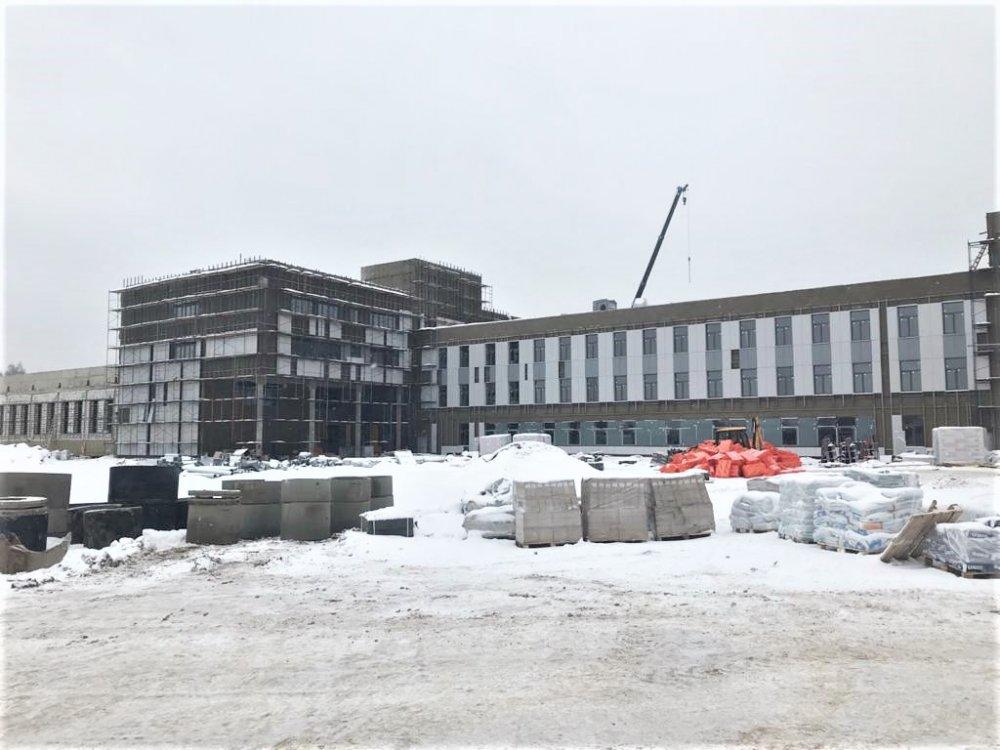 Крупный образовательный центр на 1100 мест в Солнечногорске готов на 55%