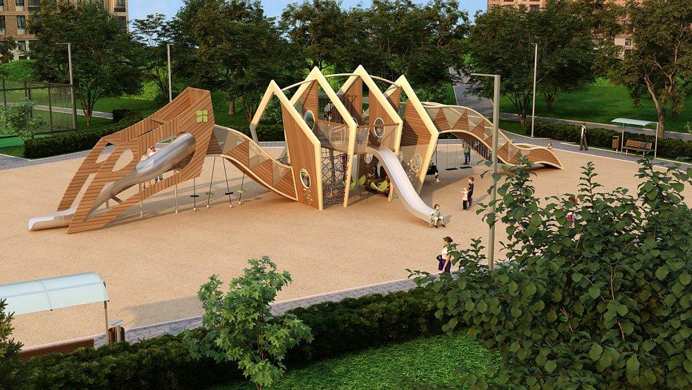 Инновационный проект: детские игровые площадки Дракон