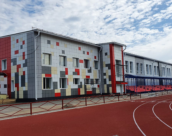 Благодаря качественным фасадным кассетам «Металл Профиль» в Томской области реконструировали спортшколу
