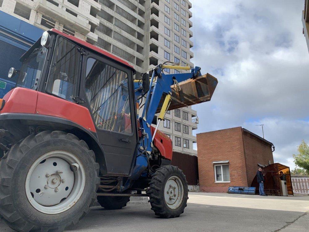 Где в Солнечногорске построят здание для размещения спецтехники