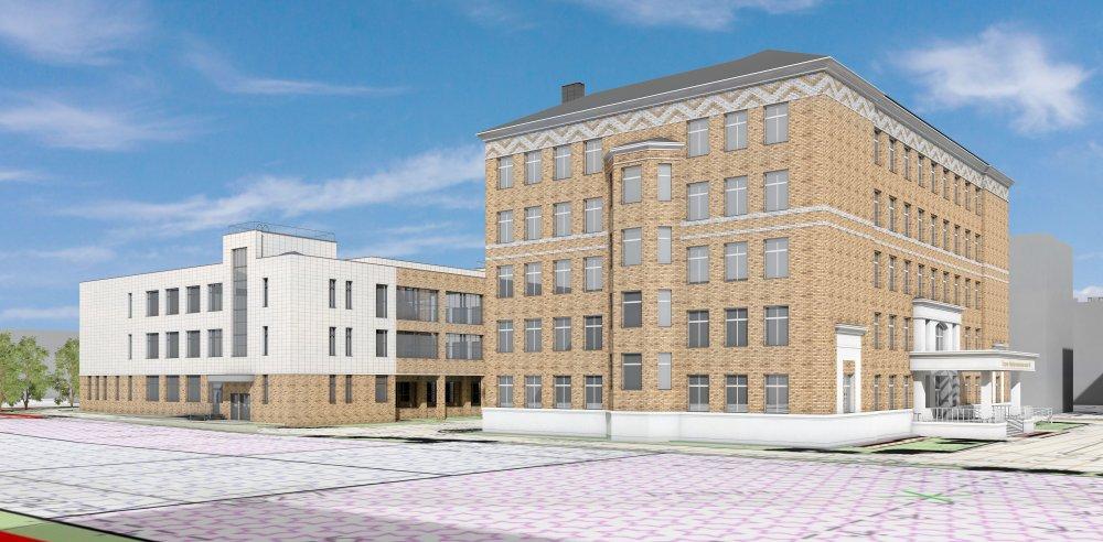 Новая пристройка к школе №6 появится в Мытищах в 2023 году