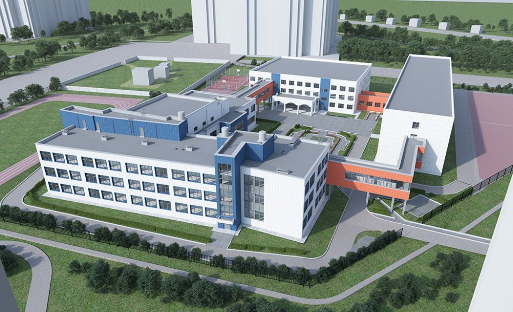 Начинается строительство пристройки на 300 мест к школе №15 в Красногорске