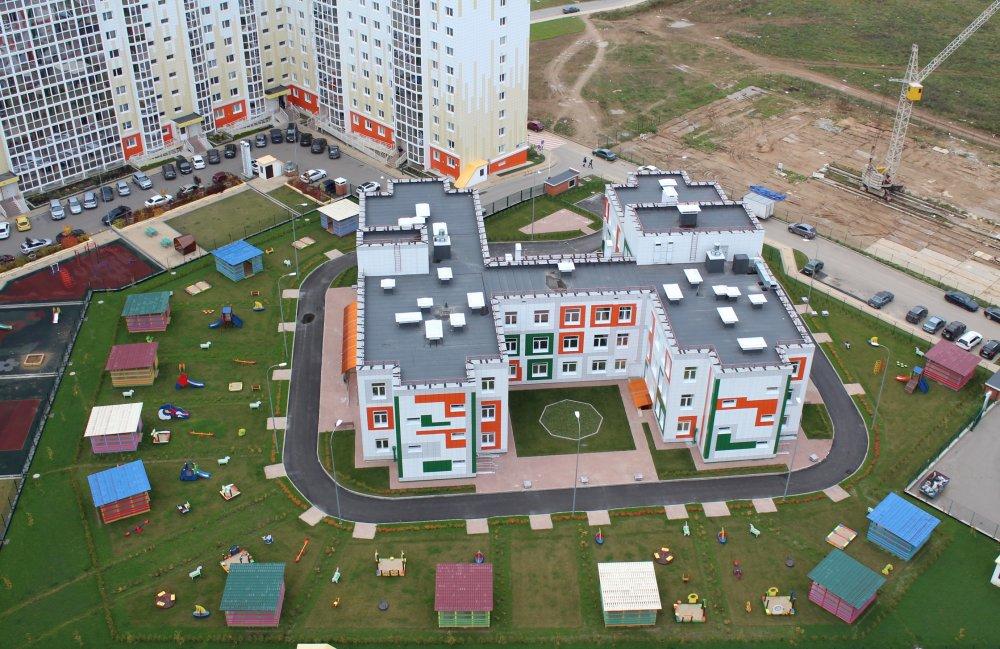 13 внебюджетных детских садов построено в Подмосковье за год