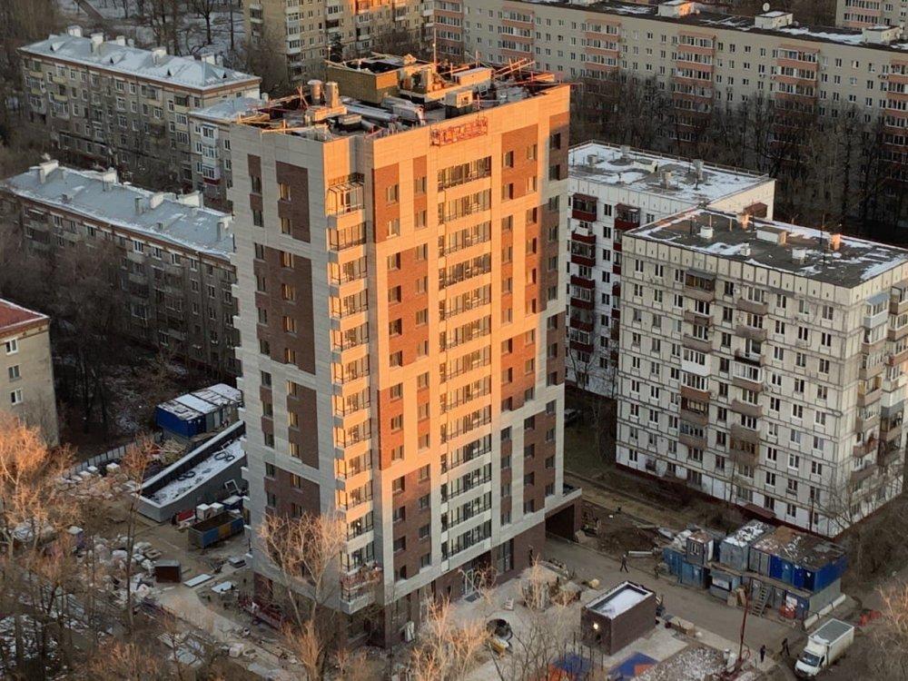Еще один жилой дом по программе реновации на 168 квартир введут в этом году в районе Лосиноостровский