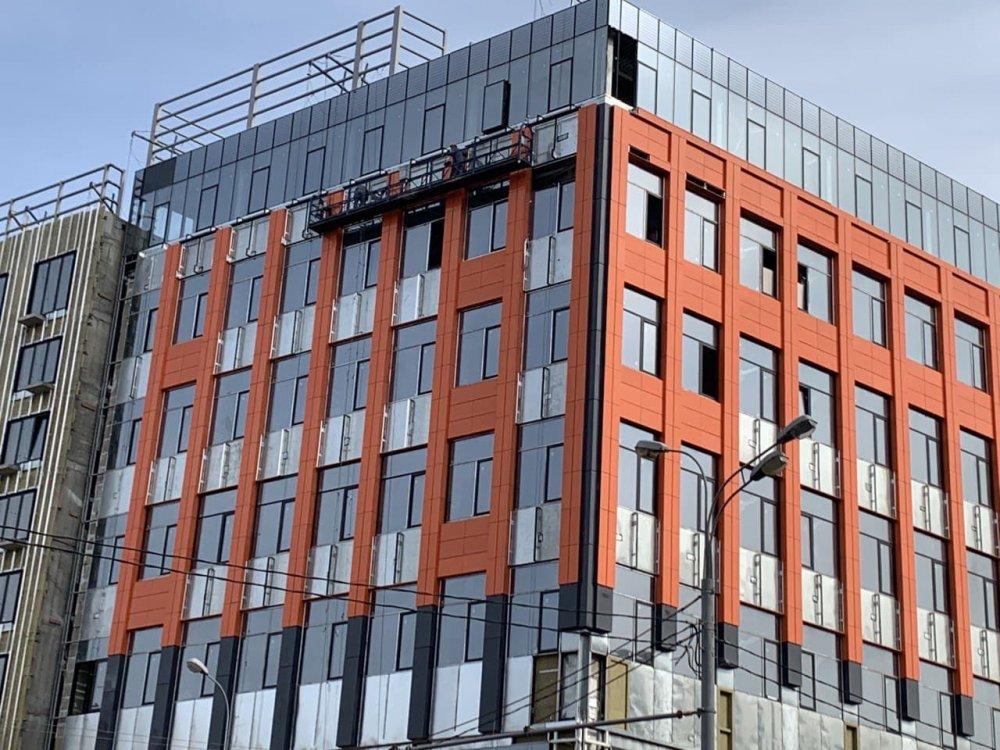 Что за бизнес-центр строят в районе Нагорный