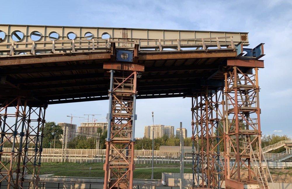 Мэр открыл новый путепровод через МЖД у станции Жаворонки