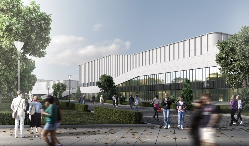 ГК «Галс»: архитектурно-градостроительное решение объекта «Академия спорта «Динамо» согласовано