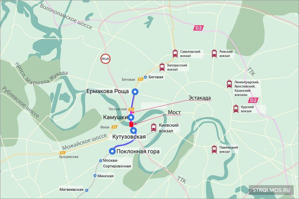 Станция Камушки соединительной ж/д ветви расположится на эстакаде