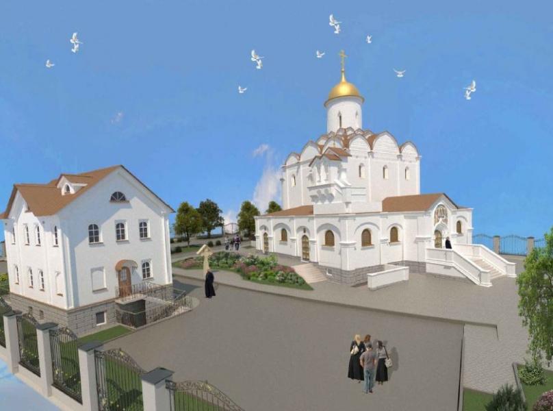 Как проходит строительство Храма в честь Успения Пресвятой Богородицы в Матвеевском