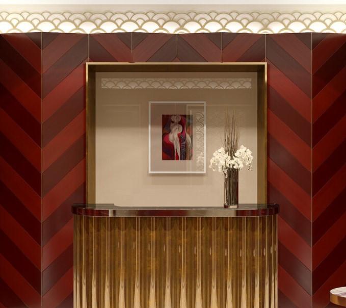 Работы художника Владимира Золотухина украсили общественные пространства дома Turandot Residences на Арбате