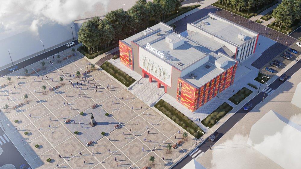 Проект Дворца одобрен Управлением государственной экспертизы Мурманской области