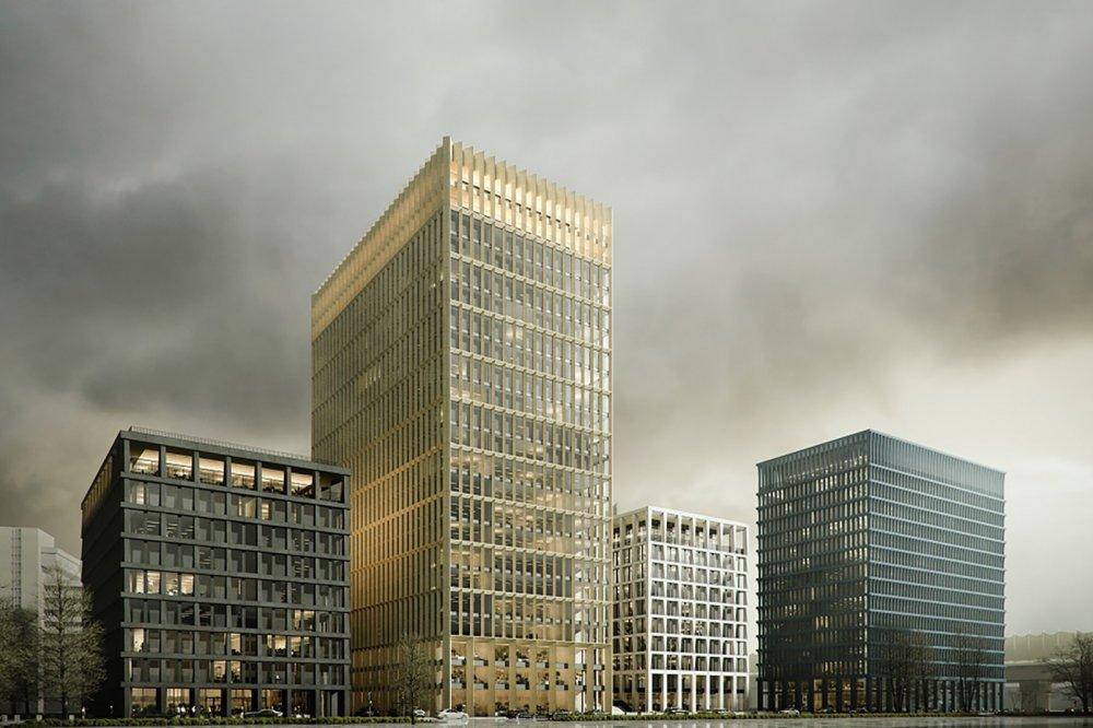 Две башни офисного квартала Stone Towers построят до конца 2023 года