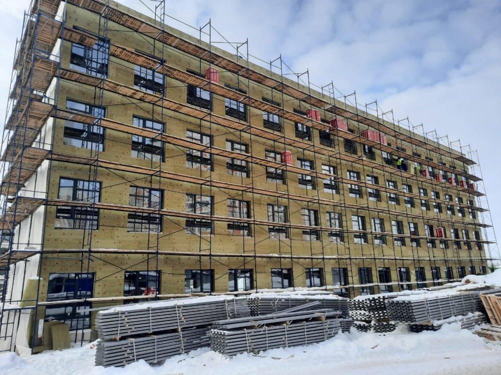 Начато строительство школы на 1100 мест в микрорайоне Кузнечики