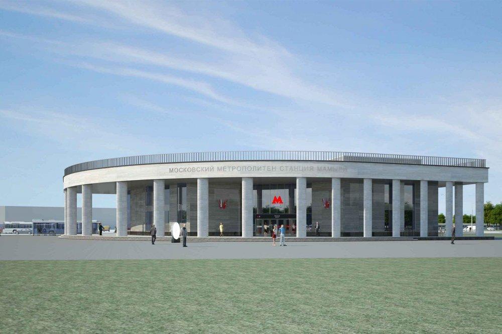 На станции метро «Мамыри» Троицкой линии появится вестибюль-лепесток