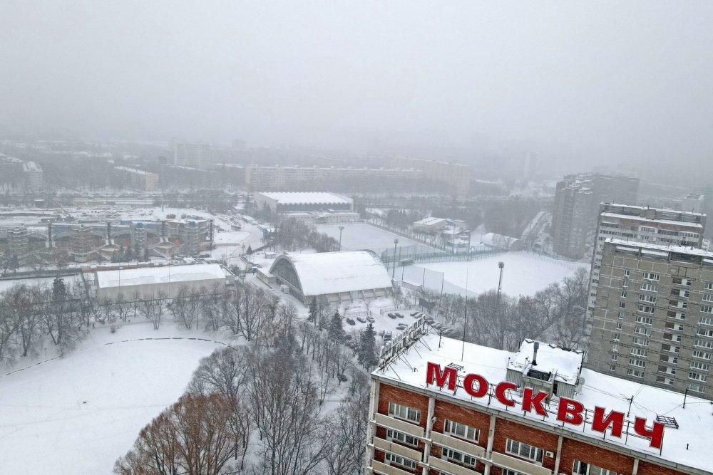 Реконструкция стадиона Москвич завершится в 2022 году