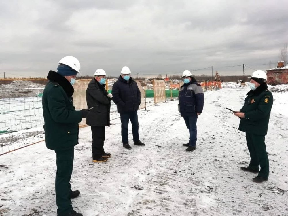 Главгосстройнадзор начал проверку очистных сооружений в Шатуре