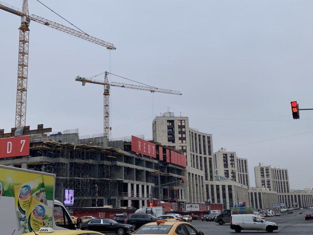 Началось строительство жилого дома для переселения по программе реновации в районе Можайский