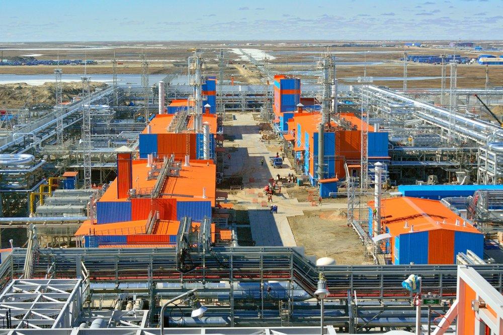 Заводы по производству СПГ строятся силами отечественных специалистов
