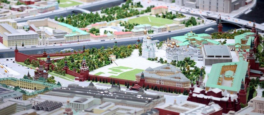 На «Макете Москвы» теперь можно разглядеть мельчайшие детали еще 50 объектов