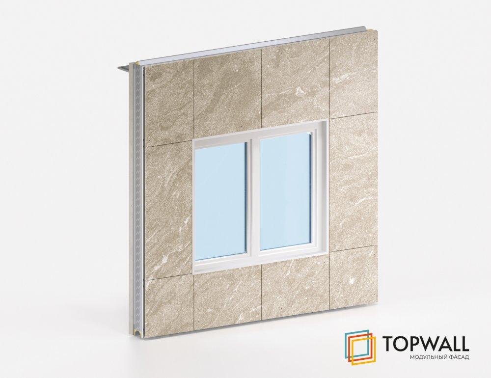 Компания Modulbau разработала новый prefab-продукт — модульную фасадную систему TOPWALL