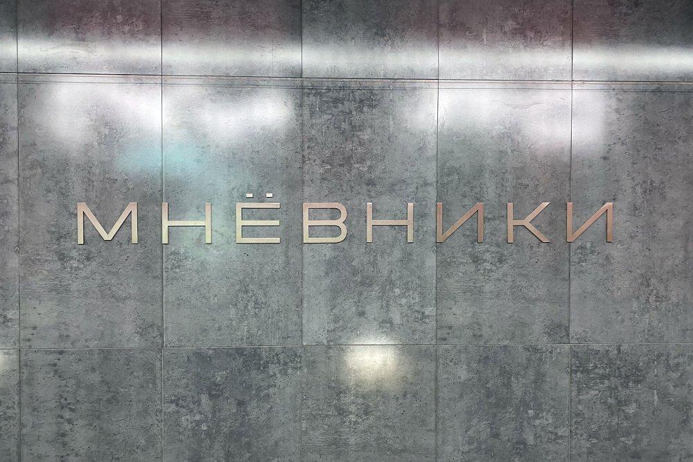 Станция «Мневники» станет катализатором развития Мневниковской поймы