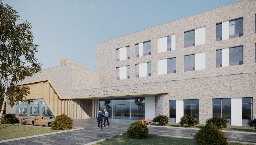 Проект дома ветеранов в Королеве включен в реестр проектов повторного применения