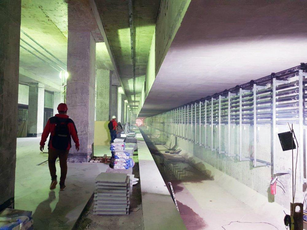 В Москве открылась восьмая станция метро с применением технологий Hilti