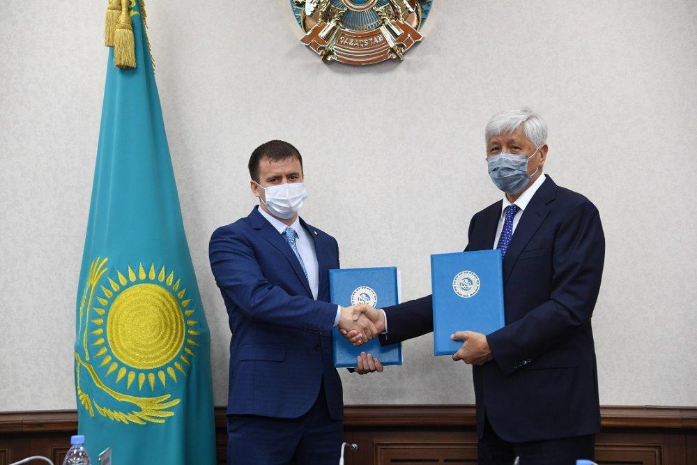Акимат Алматинской области и ТЕХНОНИКОЛЬ подписали меморандум о сотрудничестве