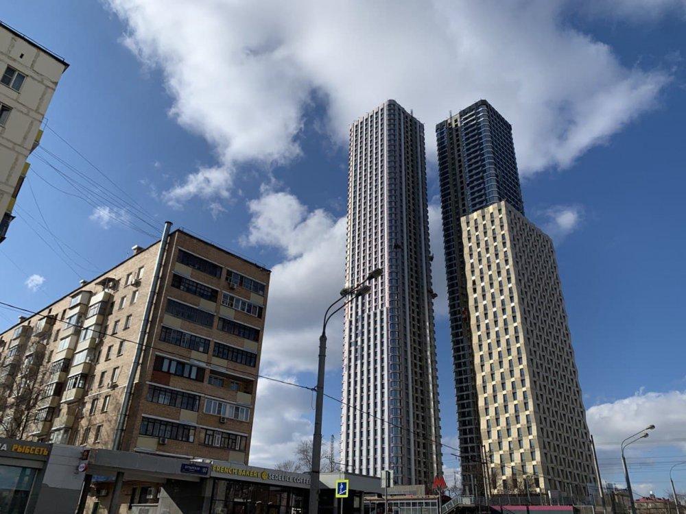 За I квартал 2021 года в России выданы разрешения на строительство 7,2 млн кв. м жилья