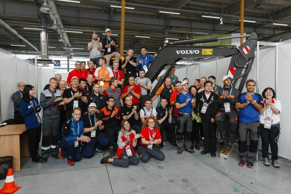 Volvo CE вновь выступит партнером WorldSkills в России