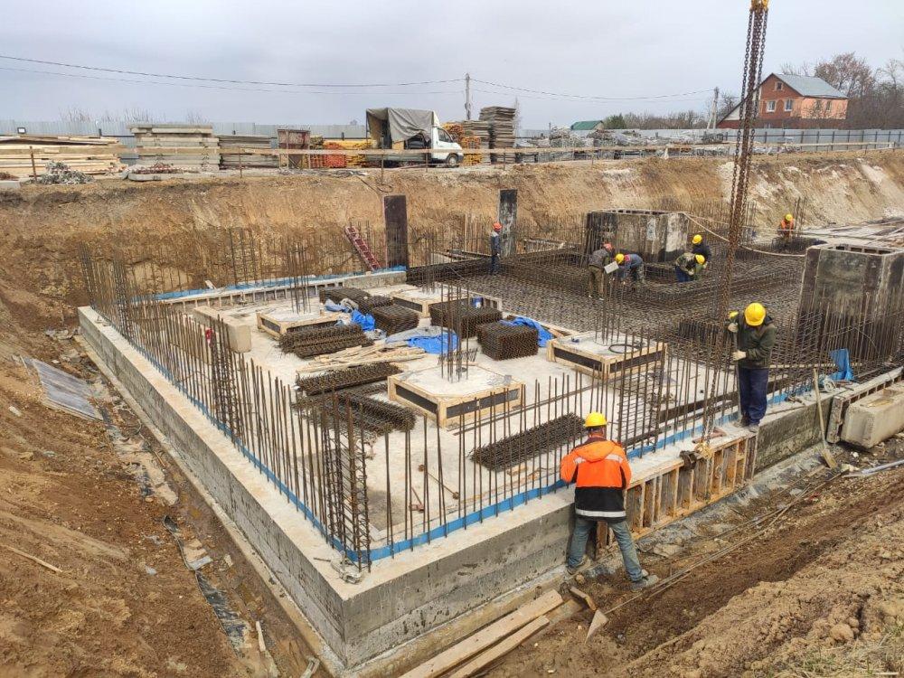 Продолжается строительство поликлиники в Коломне