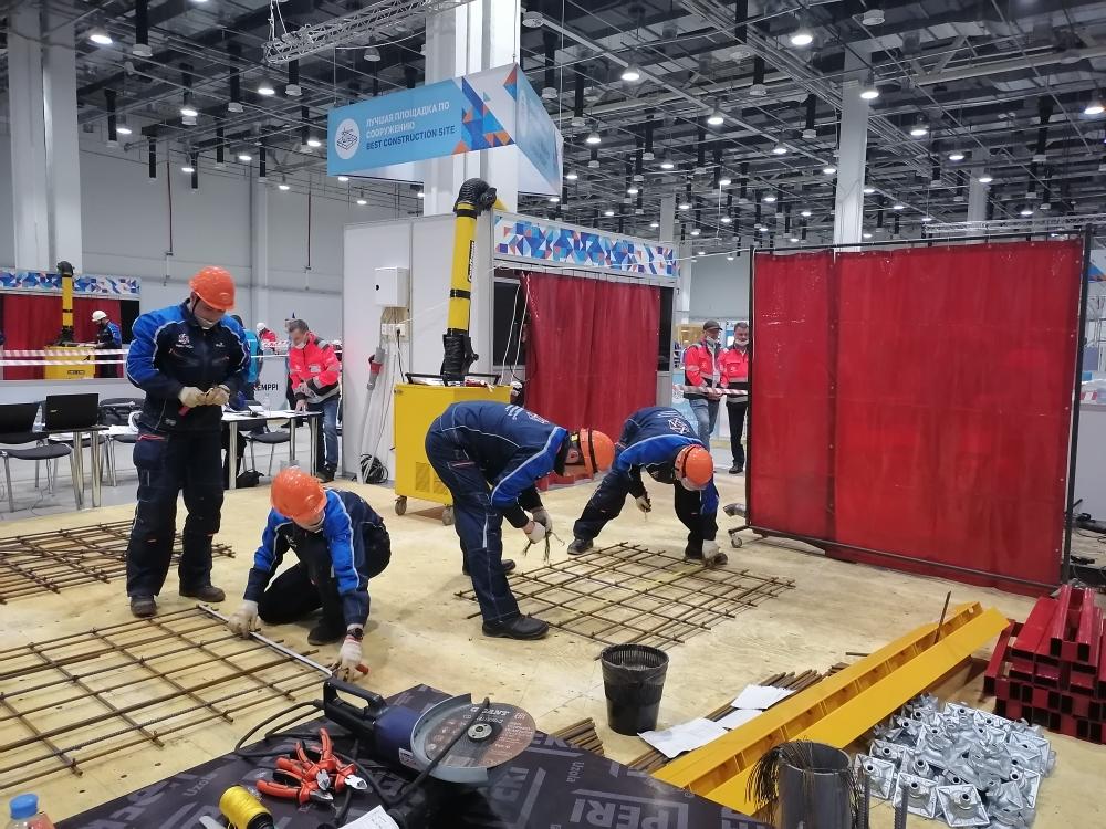На Международном строительном Чемпионате в Сочи начались соревнования по номинациям