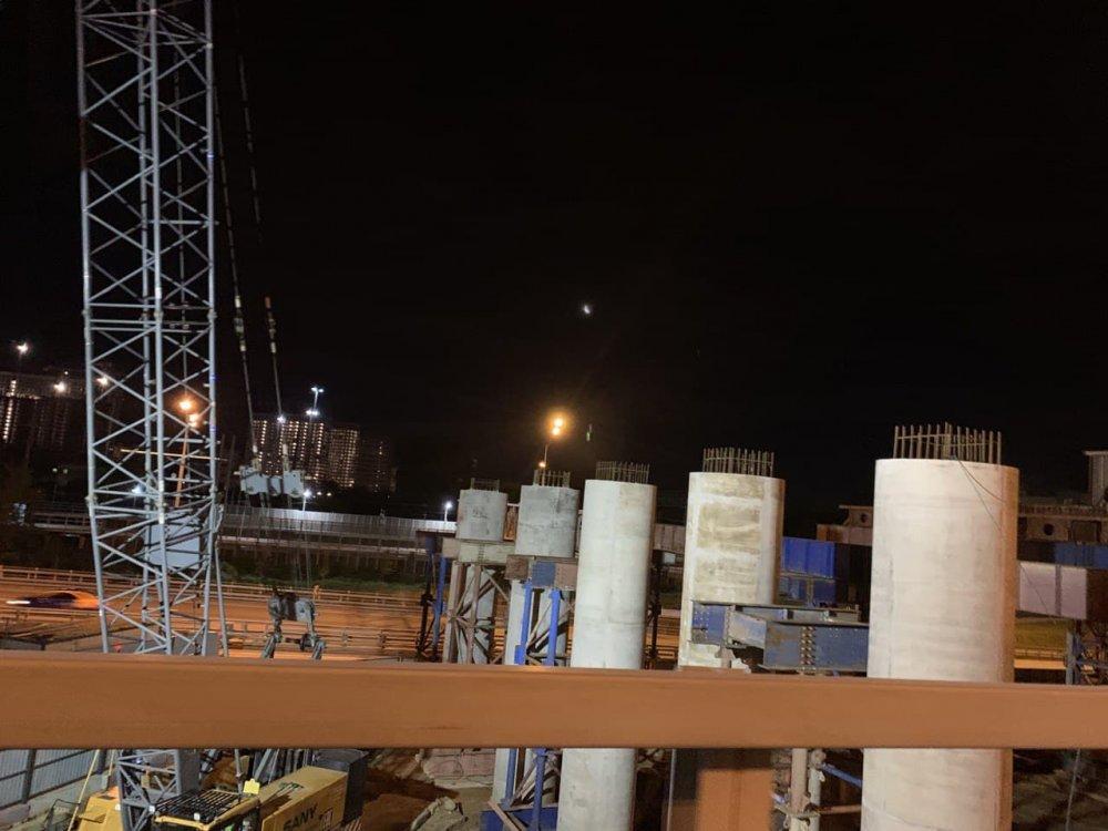 Пять эстакад строят в составе развязки на пересечении ЮВХ и Волгоградского проспекта
