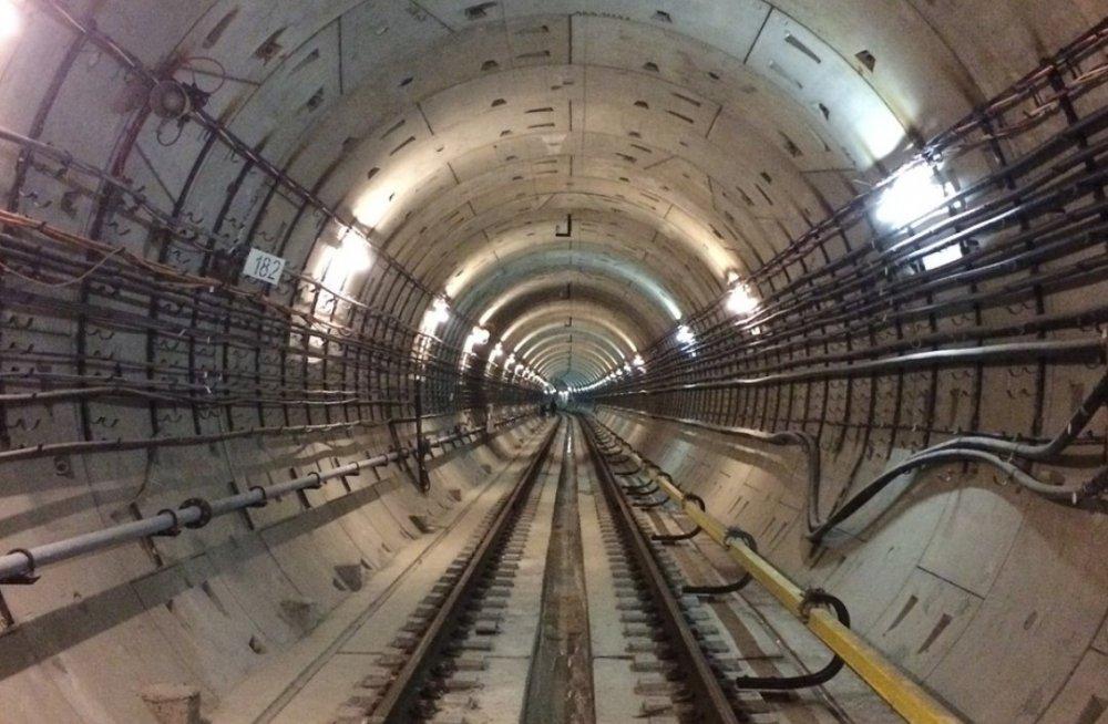 Продолжается строительство тоннеля БКЛ до станции «Нагатинский затон»