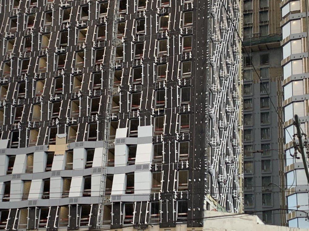 Очередной «шедевр» по реновации стоят в районе Марфино
