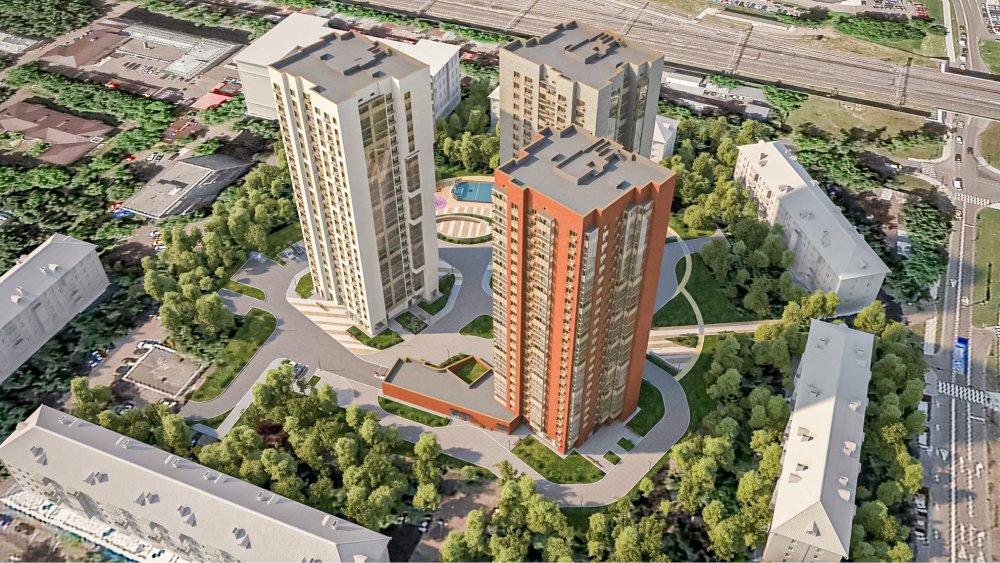 В районе Коптево началось строительство жилого комплекса по программе реновации