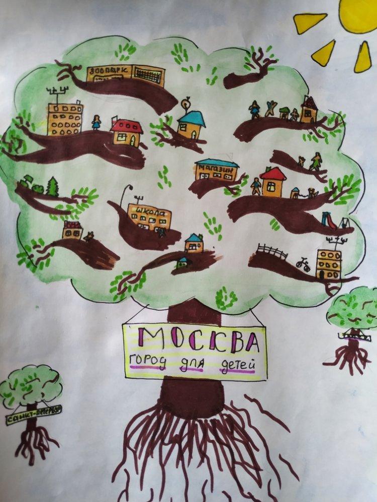 «Киевская площадь» объявляет конкурс детского творчества
