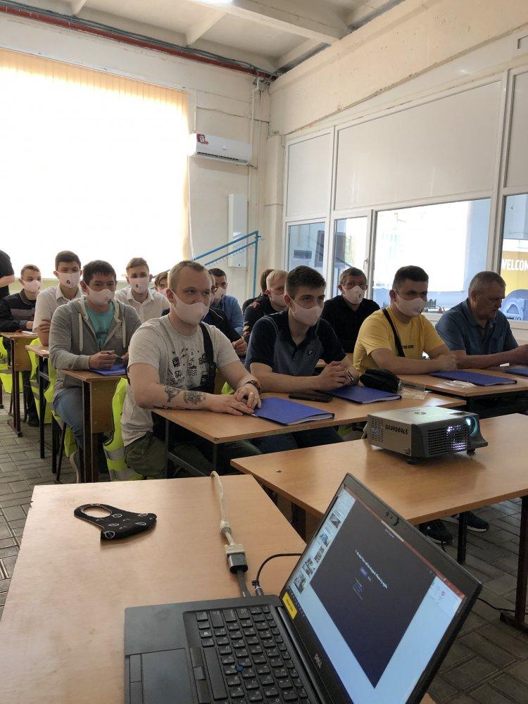 Volvo CE провела международный семинар для преподавателей и студентов учебных заведений