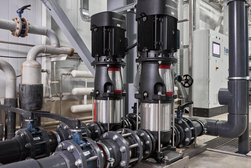 Чистая вода для кондитерской фабрики