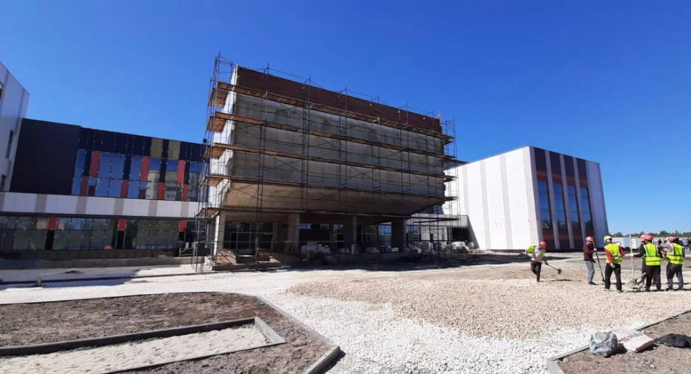 В Электрогорске завершается строительство школы на 550 мест