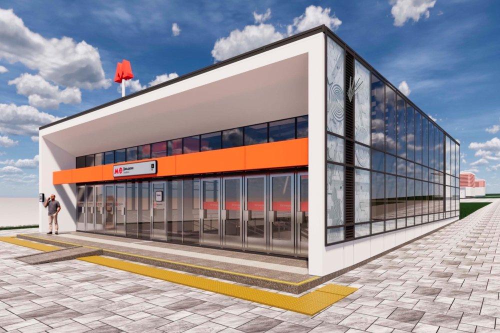 Как строится станция юго-западного участка БКЛ метро