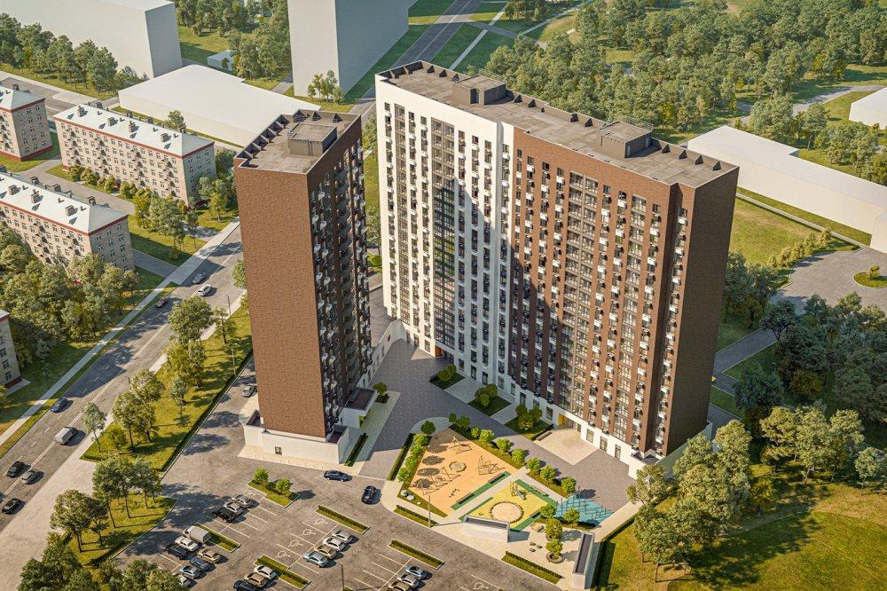 Дом по реновации в районе Люблино построят в 2021 году