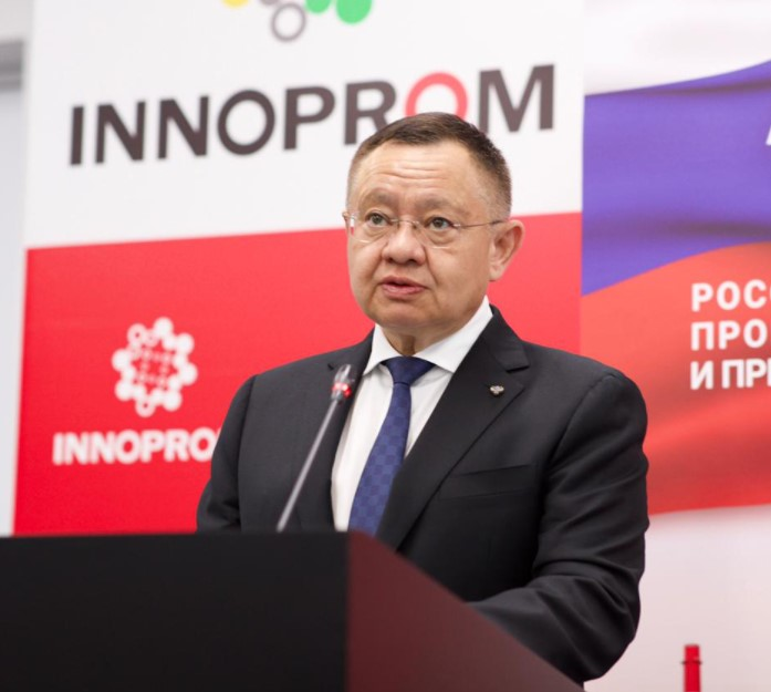 Ирек Файзуллин посетил Екатеринбург с рабочим визитом