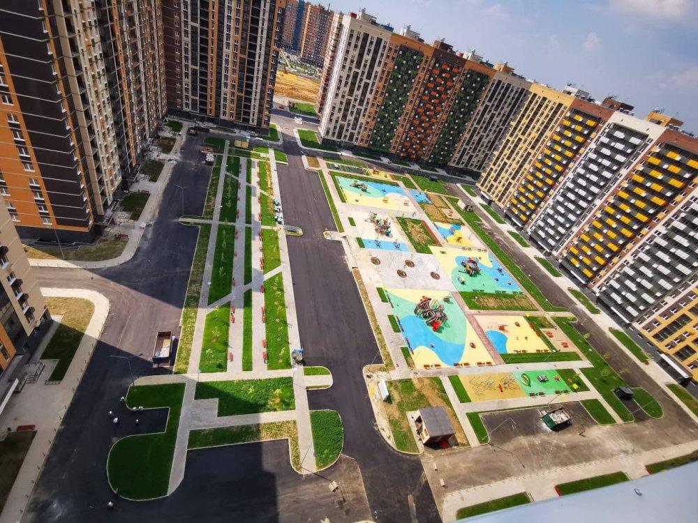 Строительство семи жилых домов завершилось в Ленинском