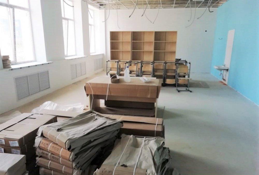Строительство школы на 825 мест в Наро-Фоминске вышло на финишную прямую