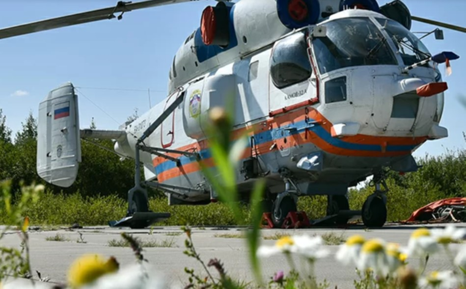 Для больницы в Коммунарке построена вертолетная площадка