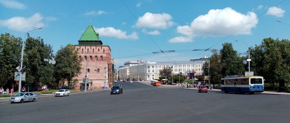 Нижегородский Кремль и его неприступные стены