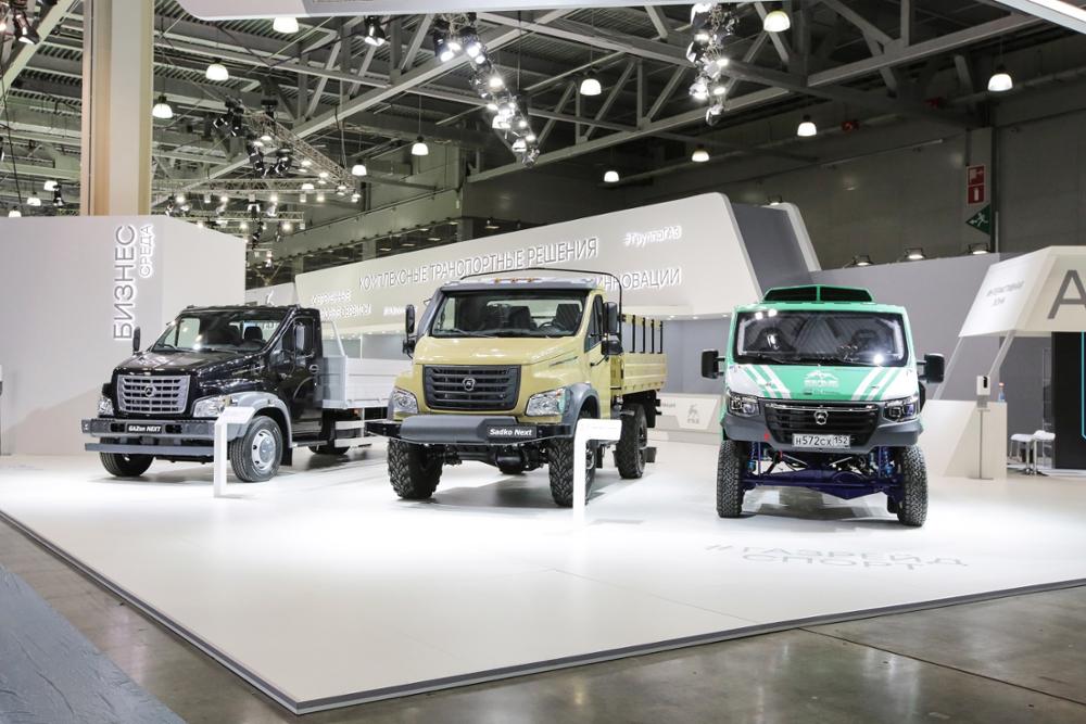 Премьера новых моделей «Группы Газ» на выставке Comtrans 2021