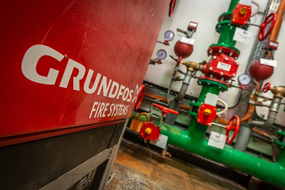 Насосы GRUNDFOS обеспечат водой фантастический квартал в Ховрине