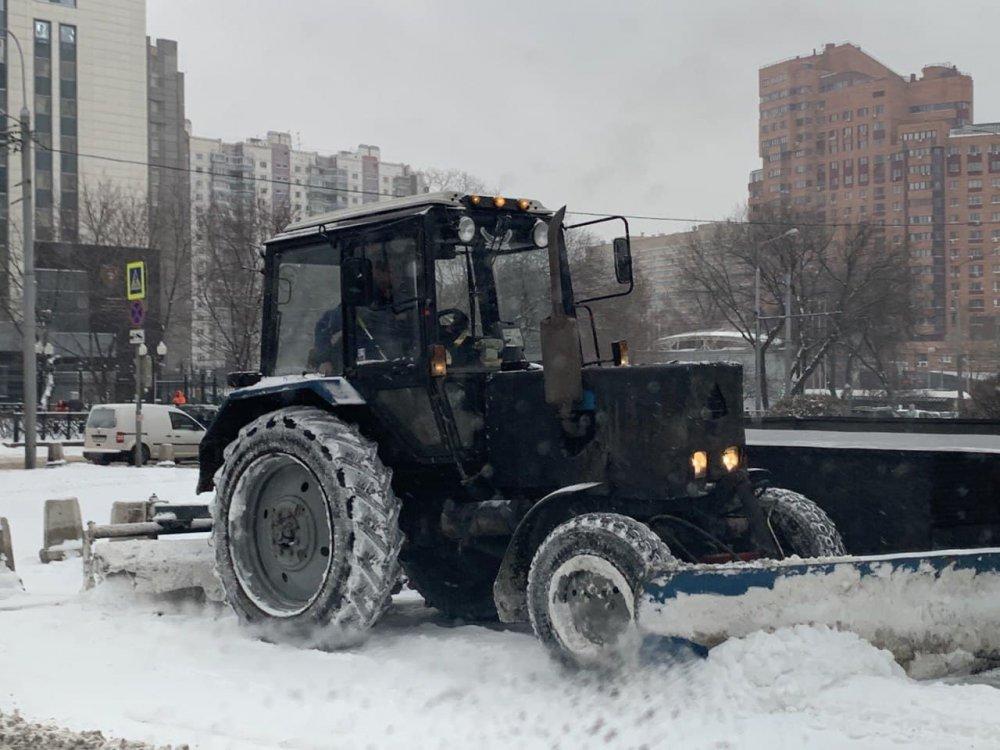 Коммунальная техника готова к работе в осенне-зимний период